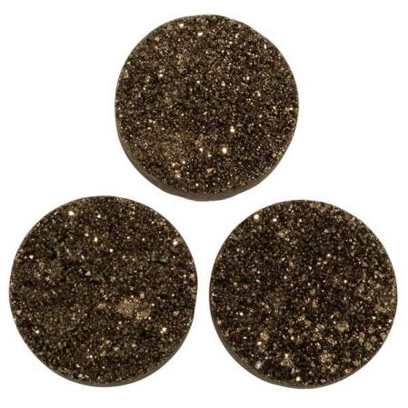 Кварц Titanium круглый 25 мм (щетка) мокрый асфальт