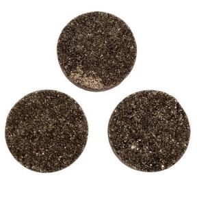Кварц Titanium круглый 30 мм (щетка) мокрый асфальт