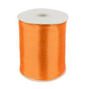 Лента атласная 3 мм оранжевая (795 м)