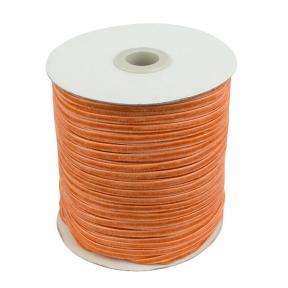 Лента бархатная 3 мм абрикосовая (200 м)