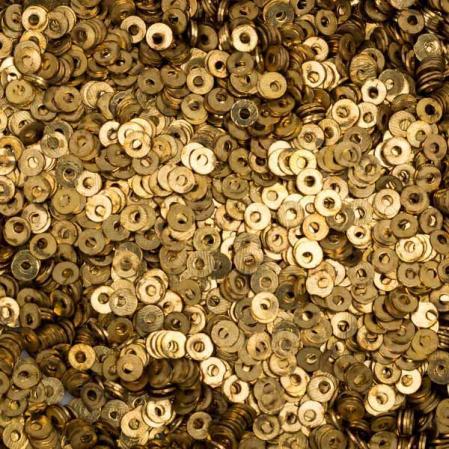 Пайетки металлические 2 мм бронза