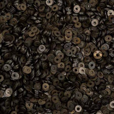 Пайетки металлические 2 мм черные