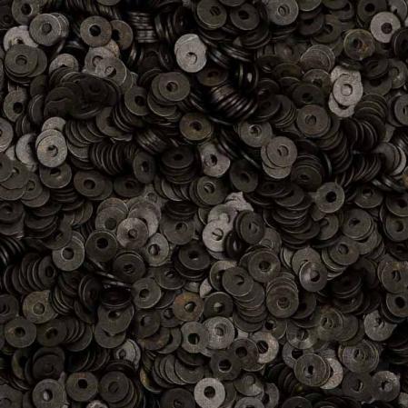 Пайетки металлические 3 мм черные