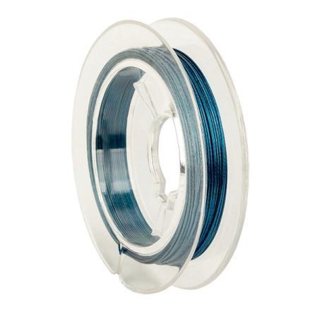 Тросик ювелирный (ланка) 0,35 мм синий