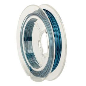 Тросик ювелирный (ланка) 0,5 мм синий