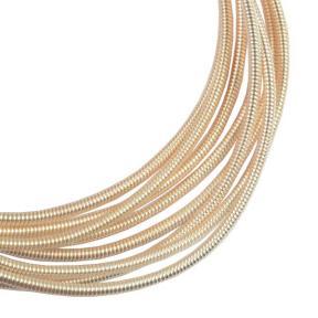Канитель жесткая 1,2 мм розовое золото