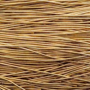 Канительгладкая 1 мм золото антик