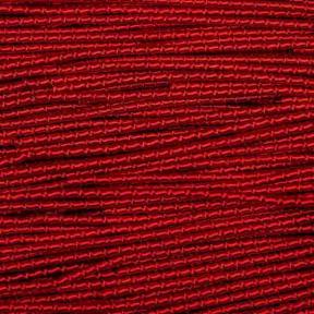 Трунцал (фигурная канитель) «бамбук» 2,1 мм красный