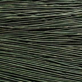 Канительгладкая  глянцевая 1 мм темно-оливковая
