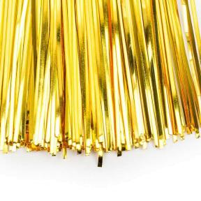 Бить 1мм яркое золото