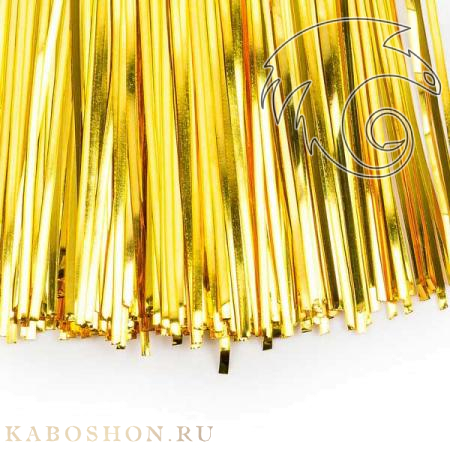 Бить 1мм яркое золото bit-152b