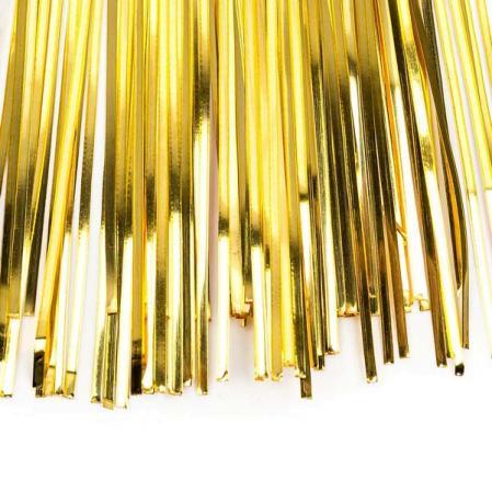 Бить 1мм светлое золото