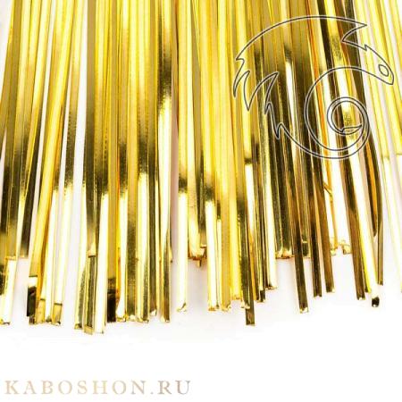 Бить 1мм светлое золото bit-154b