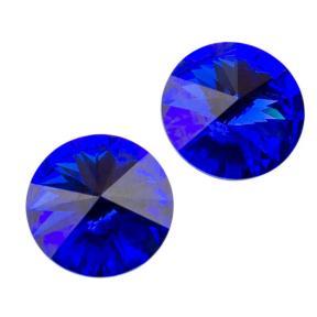 Swarovski Rivoli ss 47 (10,5 мм) Majestic Blue