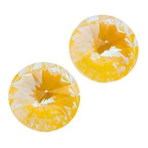 Swarovski Rivoli 12 мм Crystal Sunshine DeLite