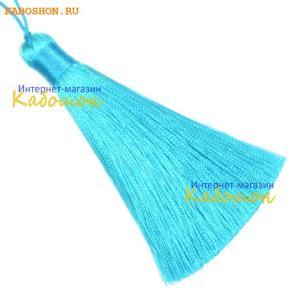Кисть 80 мм ярко-голубая